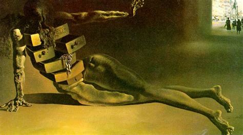 Salvador Dali With Drawers by Musing For Amusement Salvador Dali