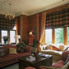 Highland Themed Living Room by The Adventures Of Tartanscot Quot Smw Design The Library