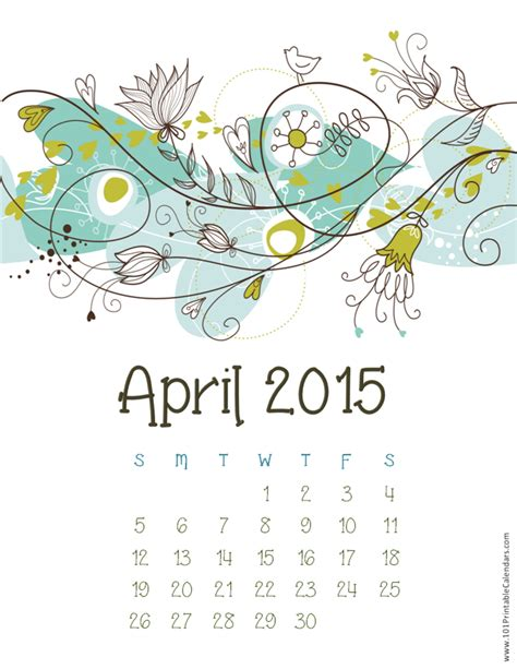 Calendar 2015 February March April March 2015 Printable Calendar February 2015 Printable