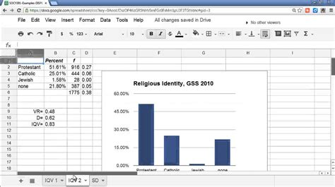 how to buy sheets using a google docs spreadsheet to calculate the variance
