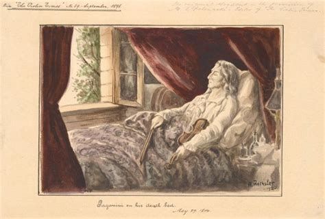 bed death file paganini on his death bed jpg wikimedia commons