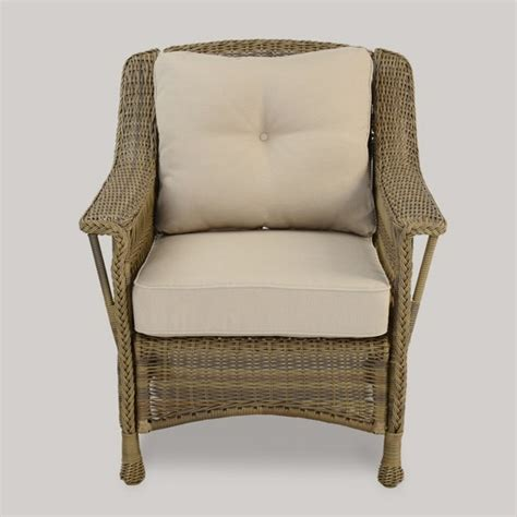 target wicker chairs cambridge all weather wicker club chair threshold target
