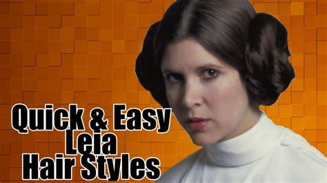 Princess Leia Hairstyles by Princess Leia Hairstyle Time Lapse Tutorial