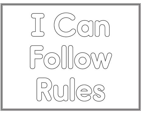 preschool rules coloring pages free coloring pages of classroom rules preschool
