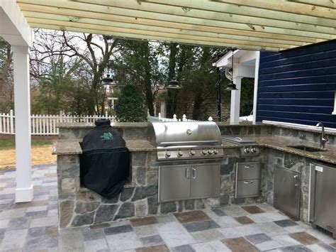 outdoor kitchen designs installation j j landscape