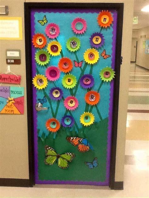 spring door decorations cool spring door decorations for preschoolers 4