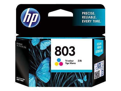 Hp Ink Cartridge 803 Color hp 803 tri color original ink cartridge f6v20aa hp 174 india