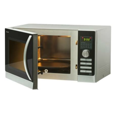 Microwave Grill Sharp sharp r842slm 25 litre 900w microwave combination oven with grill ebay