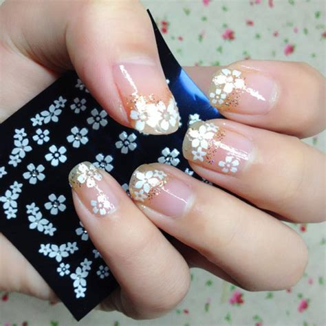 Nail Sticker Patch Decal Motif Laces Renda 3 nail designs using stickers kamos sticker