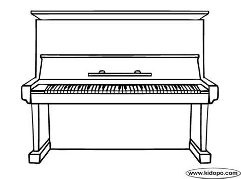 coloring page piano keys piano printable coloring pages