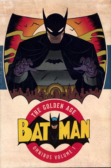 batman the golden age batman the golden age omnibus hc vol 01