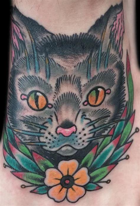 cat tattoo in addison untitled by daniel gerbis tattoonow