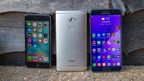 huawei p9 plus vs iphone 6s plus vs galaxy note 5 which phablet is best