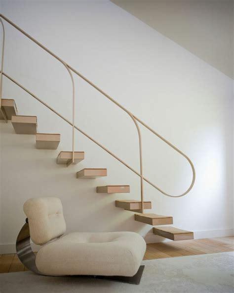 treppenhaus gestalten schöner wohnen treppe gestalten idee