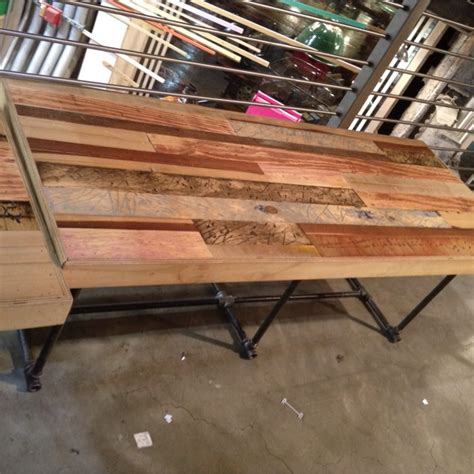 scrap wood bench reclaimed scrap wood bench craft ideas pinterest