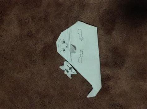 Jabba Origami - jabba and salacious crumb origami yoda