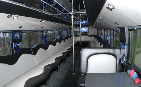 Image Gallery Inside Double Decker Charter Bus