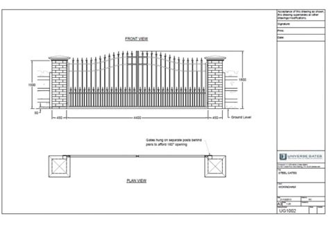 Floor Plan Detail Drawing by Electric Gates Archives Electric Gates Automatic Gates