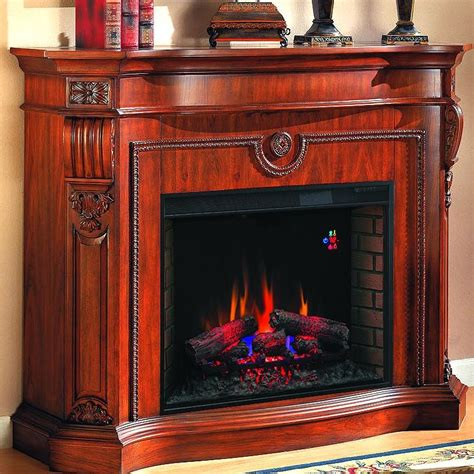 florence 62 inch electric fireplace heritage cherry