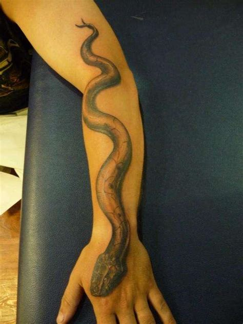 snake forearm tattoo snake tattoos top 20 snake designs
