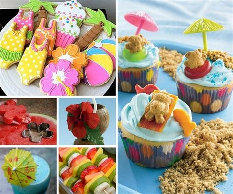 food ideas for a luau ideas summer ideas at birthday in a box