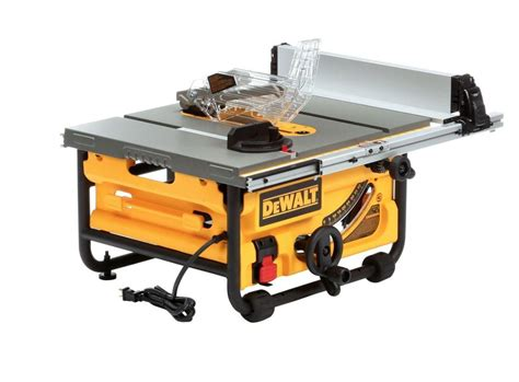 dewalt 7480 table saw 15 10 in compact site table saw with site pro