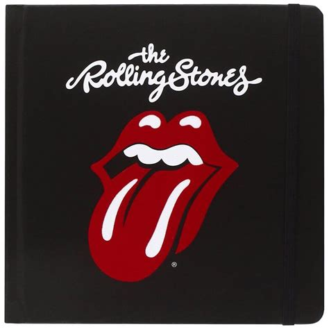Rolling Stones The Rolling Stones Tongue Logo Hardback Notebook Retro