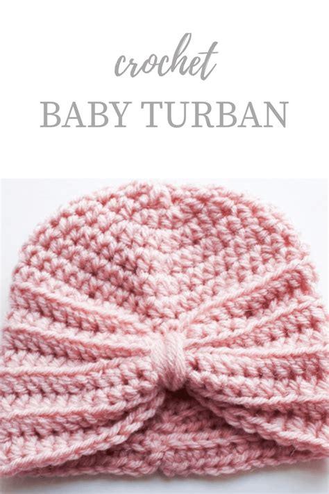 tutorial buat turban baby crochet baby turban pattern kozy and co