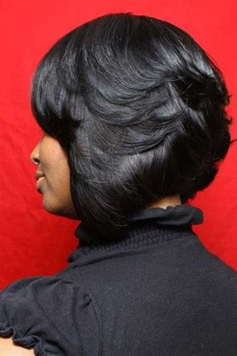 layered bob hairstyle black women hair 10 layered bob hairstyles for black women short