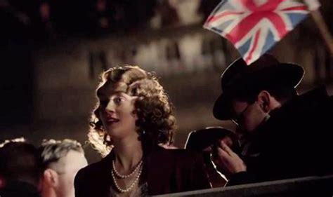 film queen elizabeth ve day video a young queen elizabeth enjoys ve day and we meet