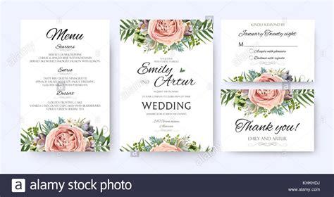 Wedding Invitation Card Vector Design by Wedding Invitation Floral Invite Card Design Garden