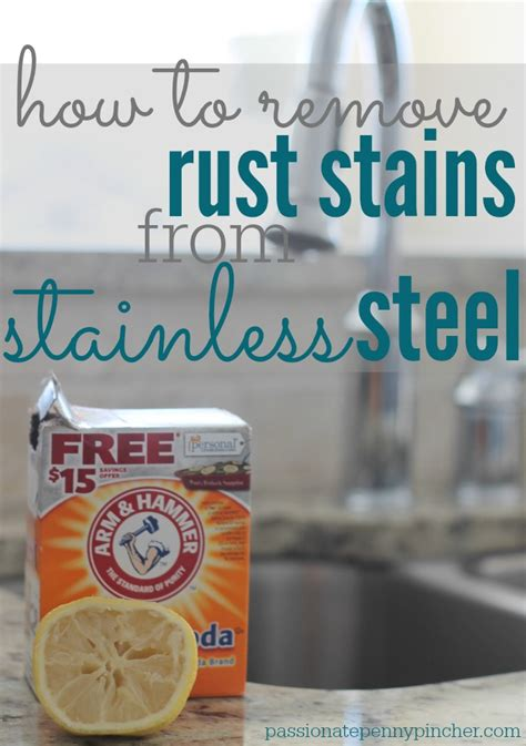 How To Clean Stains From Stainless Steel Sink by How To Remove Rust Stains From Stainless Steel Freshen
