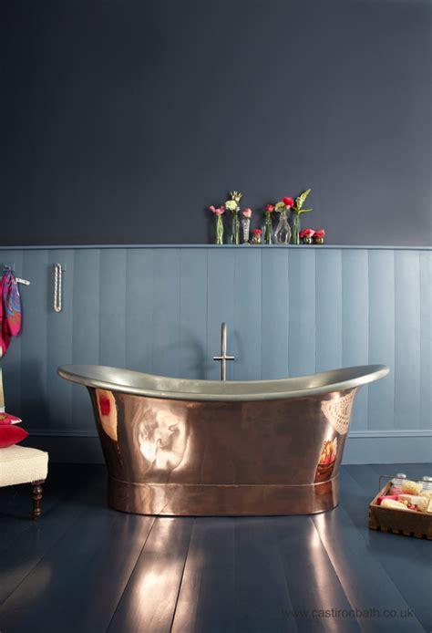 copper bathroom bathroom palette copper cast iron bath companycast