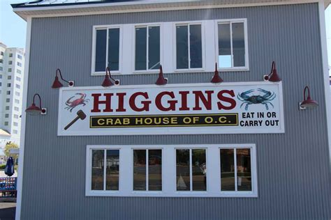 higgins crab house ocean city about us higgins crab house all u can eat crabs ocean city md