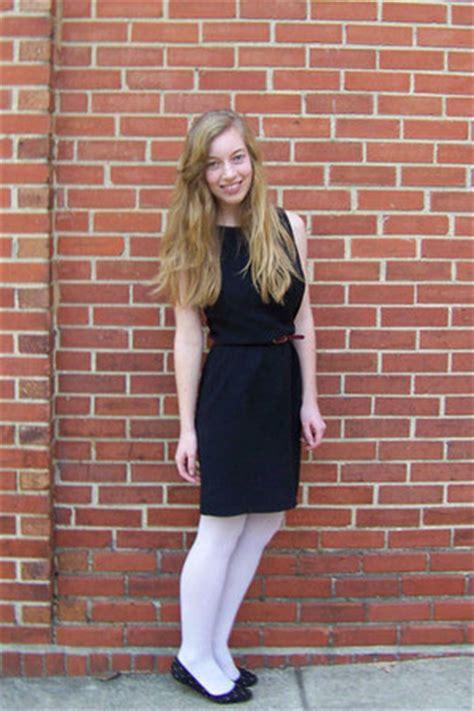 black ann taylor dresses white target tights black
