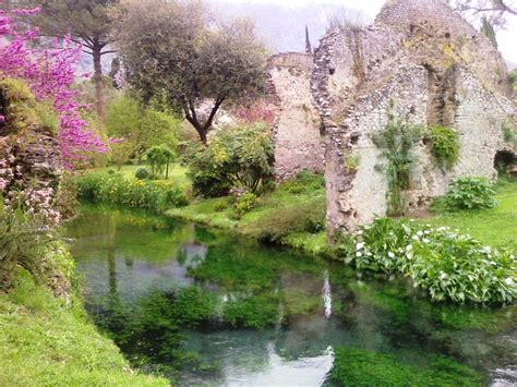giardini di ninfa sermoneta metaplano tour viaggio in sermoneta e ninfa