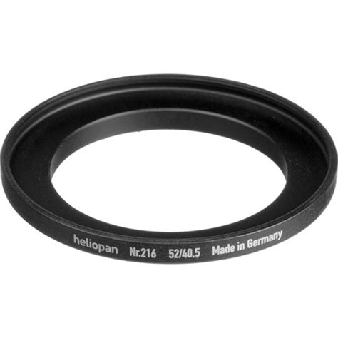 Step Up 40 5mm 52mm heliopan 40 5 52mm step up ring 216 700216 b h photo