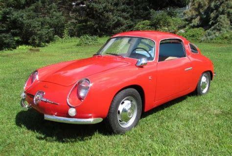 1959 fiat abarth 750 record monza gt zagato italian cars