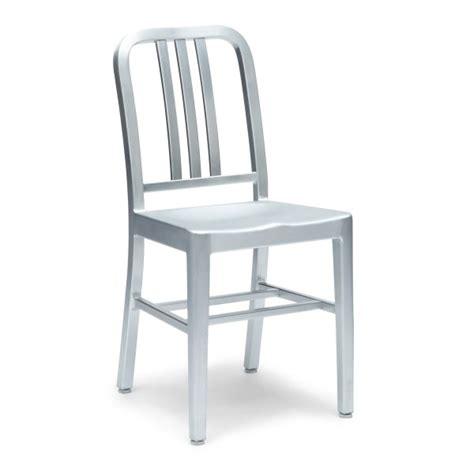 sedia alluminio sedia navy style alluminio mobili di design sedie di