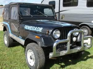 1986 Jeep Renegade For Sale 1986 Jeep Wrangler Cj 7 Renegade For Sale Photos