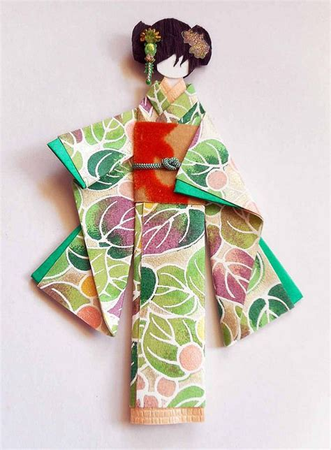 Origami Paper Doll - japanese origami doll 1 japanese origami origami and