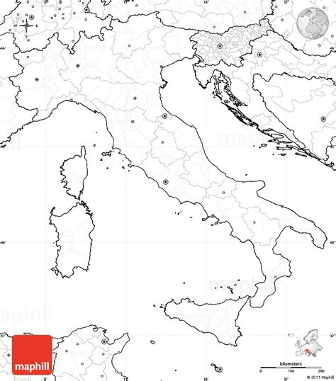 printable maps italy image gallery outline map of italy