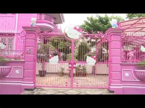hello kitty mansion hello kitty house youtube