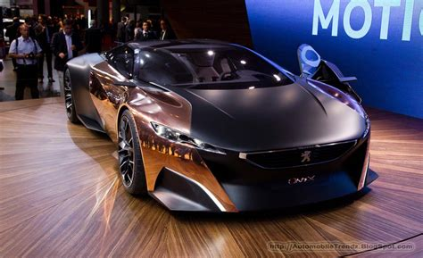 peugeot copper automobile trendz peugeot onyx concept car