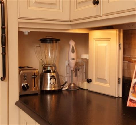 Kitchen Appliance Cabinet Storage Easy To Store And Find Things Camano Custom Cabinets Page 2