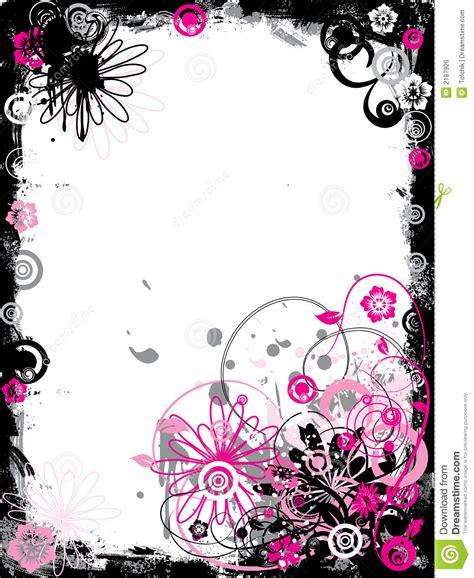 floral grunge frame vector stock vector illustration of illustration 1792578 grunge floral border vector stock vector image 2187926