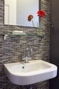 bathroom modern tile ideas backsplash: bathroom glass tile gallery bathroom contemporary with mosaic tiles