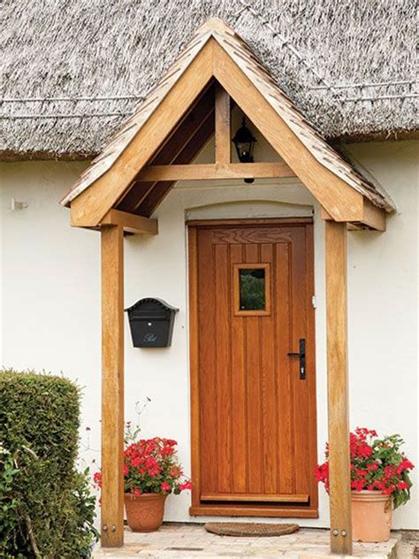 Front Door Canopies With Pillars 32 Best Images About Oak Or Contemporary Porch On Front Door Design Bespoke And