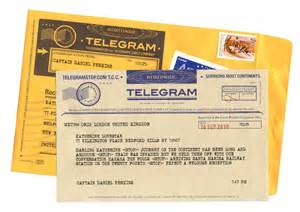 telegram stop send a traditional classic telegram the