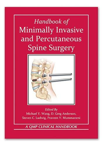 pocket atlas of spine surgery books neurosurgery handbook of minimally invasive and